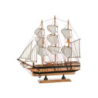 Модель парусного корабля, 28х33см