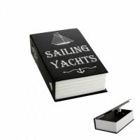 """234015 Книга-сейф """"Парусные яхты"""""""
