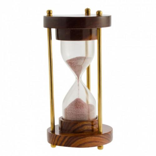 Часы песочные (3мин) дерево h.12