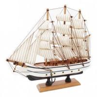 """Модель корабля """"Бригантина"""" 23см"""