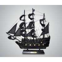"Модель парусника ""Черная Жемчужина"" (Black Pearl) 40см"