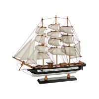 Модель парусного корабля, 43х48см