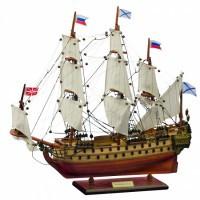 "Модель корабля ""Ингерманланд"", 1715г"