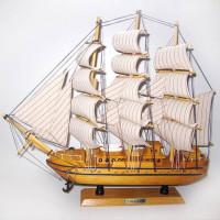 """Модель корабля """"Confection"""" (орех), дл.50см"""