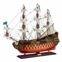 "Корабль ""Le Soleil Royal"", 87х77х28 см"