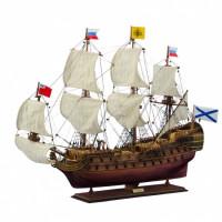 """Модель парусного корабля """"Полтава"""""""