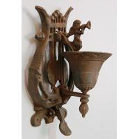 Декоративный чугунный колокольчик для двери