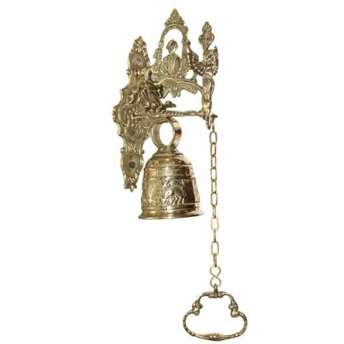 Дверной колокол с цепочкой