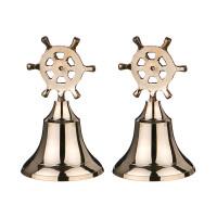 Комплект колокольчиков из 2 шт.высота=12 cm