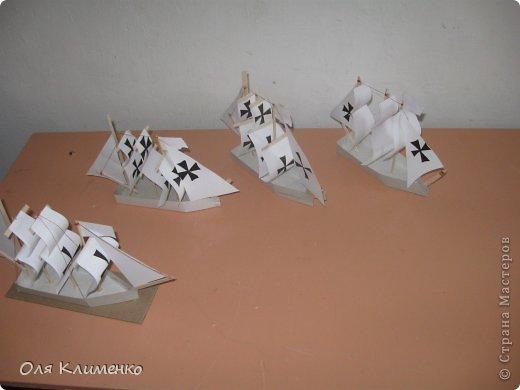 моделирование кораблей из бумаги